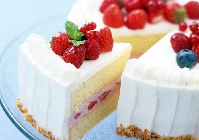 крем из йогурта для торта
