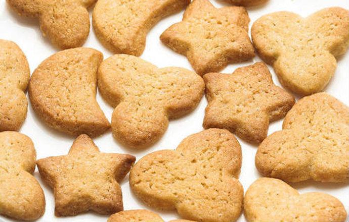 Как приготовить песочное печенье быстро