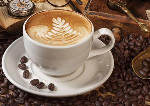 Чашка заварного кофе