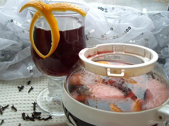Безалкогольный глинтвейн рецепт приготовления