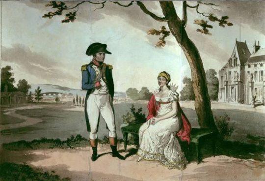 Наполеон из слоеного теста с заварным кремом