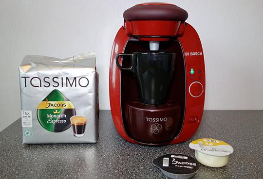 Капсулы +для кофемашины bosch tassimo