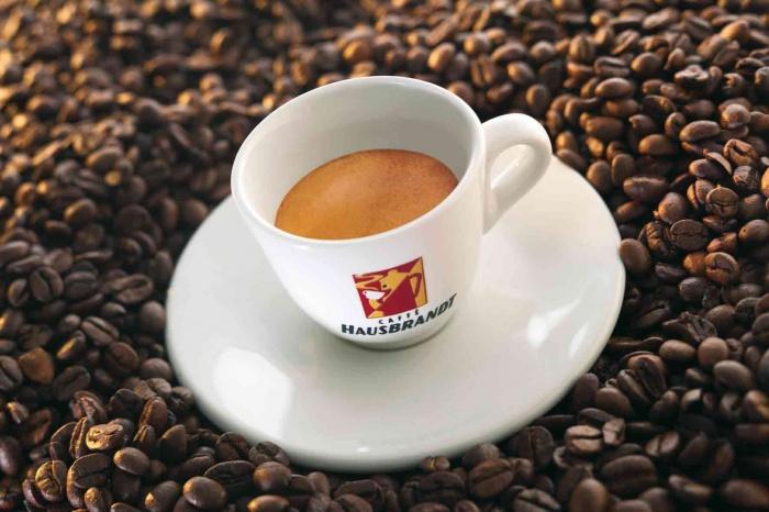 кофе в зернах Хаусбрандт