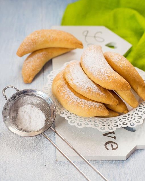 Творожное печенье «Бананчики»