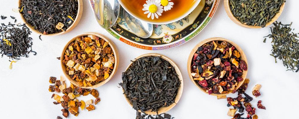 все виды чая