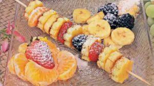 рецепт из фруктов