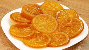 Карамель из апельсина