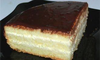 бисквитный торт чародейка