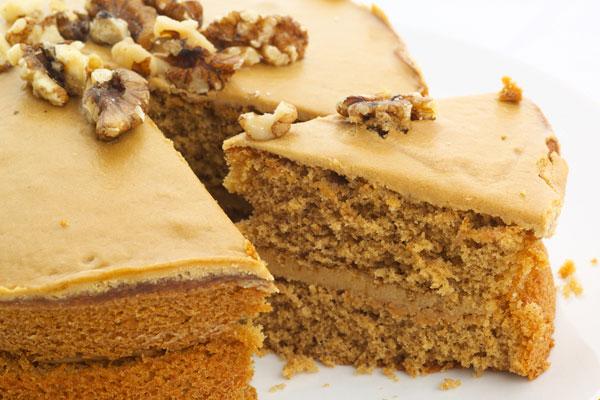 ореховый торт со сгущенкой