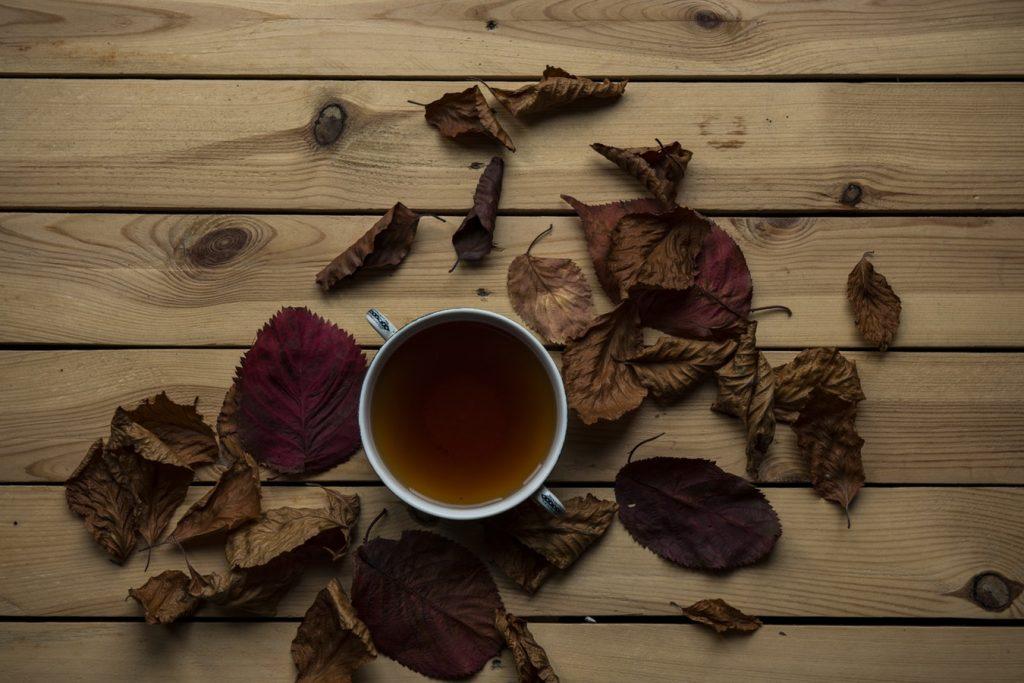 Окрашивание чаем