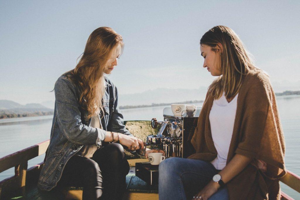 беседа и кофе