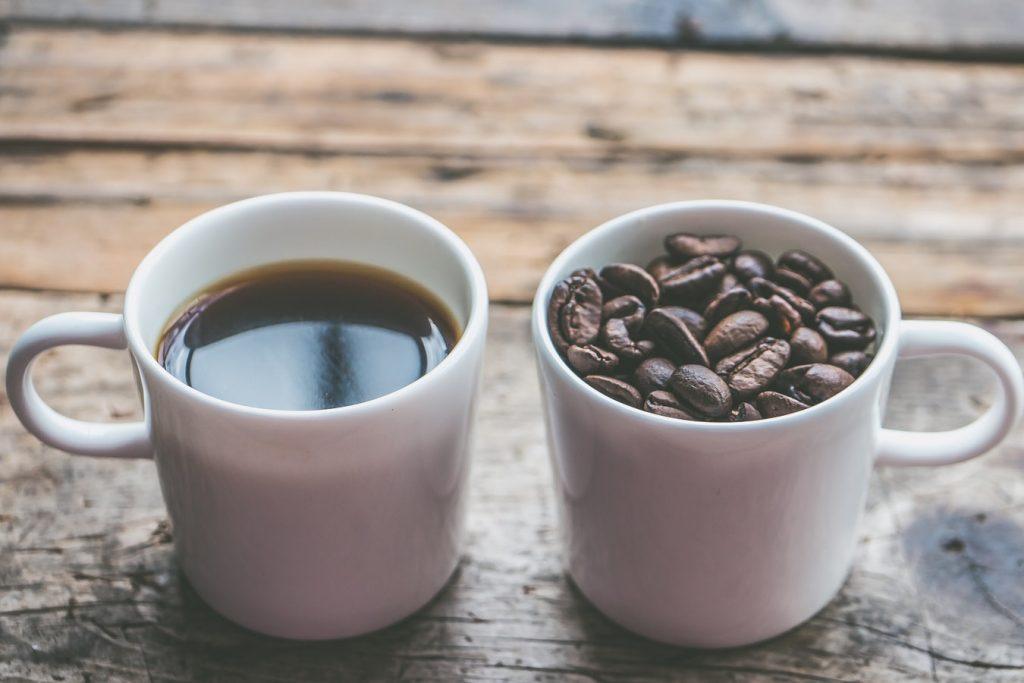 Окраска кофе