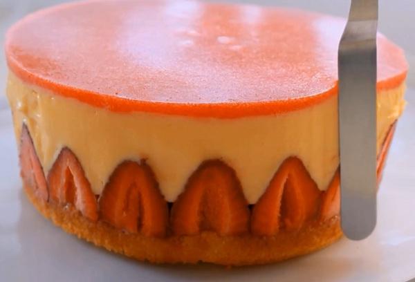 торт из клубники