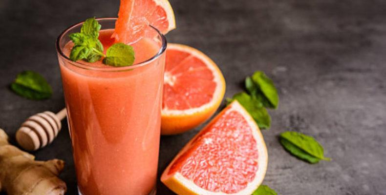 Грейпрутовый сок с мятой