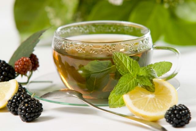 Жасминовый чай с лимоном