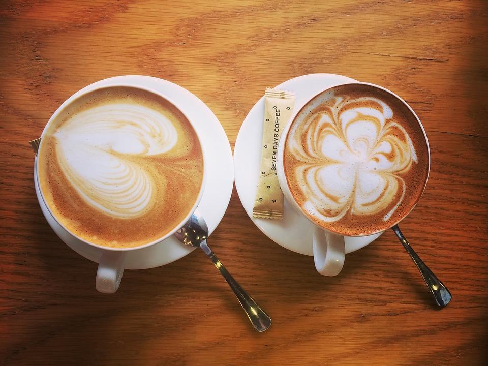 Кофе и карамель