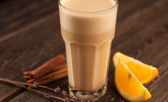 какао с апельсином