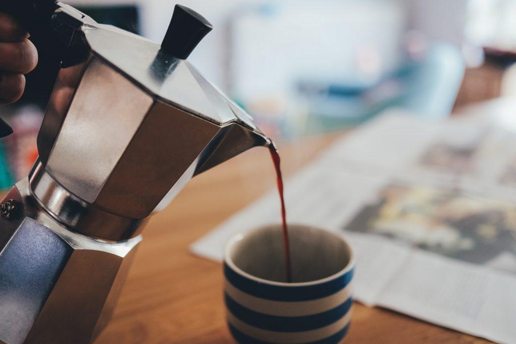 кофе в жизни