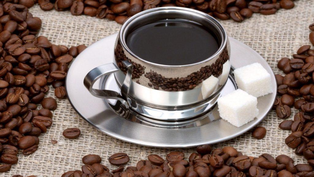 кофе с сахром
