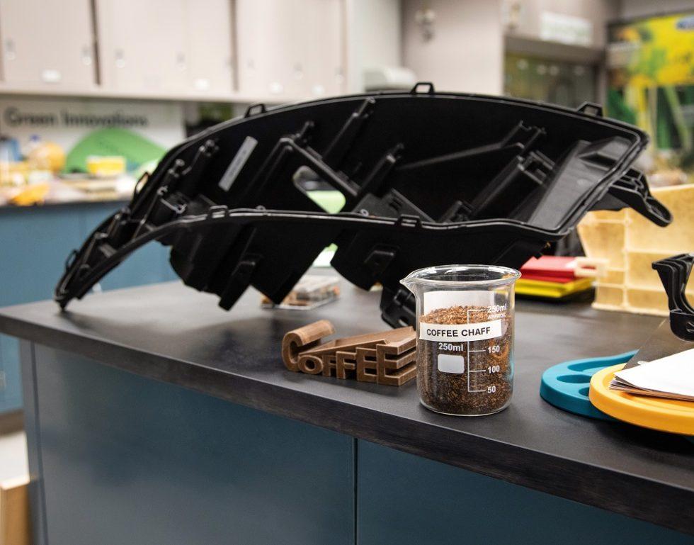 кофейная шелуха, автомобильные запчасти, Ford