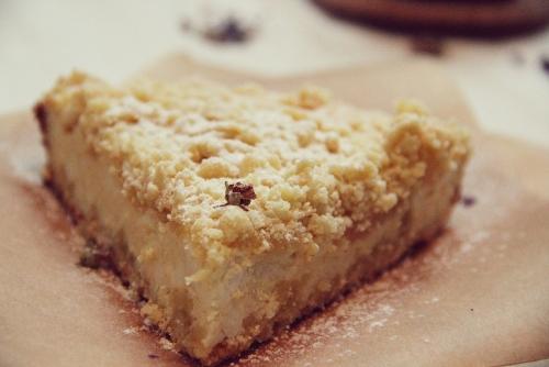 сладкий насыпной пирог