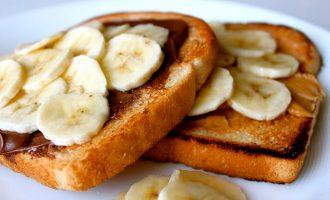 банановые тосты