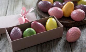 яйца из шоколада