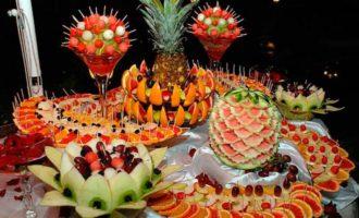 фруктовый стол