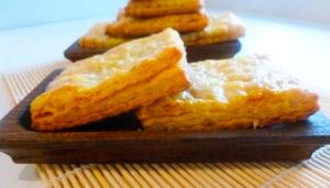 сырное печенье на сметане