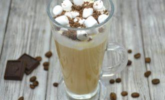 зефир и сливочный кофе