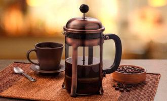 кофе и френч пресс
