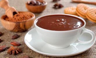 густой шоколад