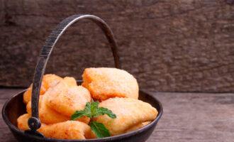 творожное печенье с апельсином