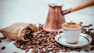 домашнее кофе в турке