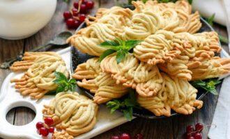 печенье с творогом на маргарине