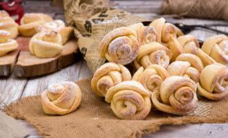 вкусное печенье розочка