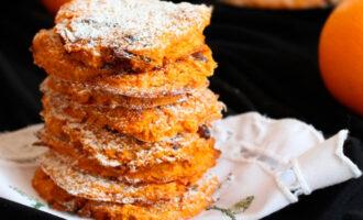 морковное печенье с овсянкой