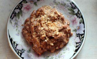 торт муравейник в тарелке