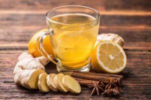 имбирный чай со специями