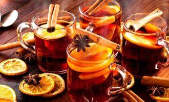 чай с вином